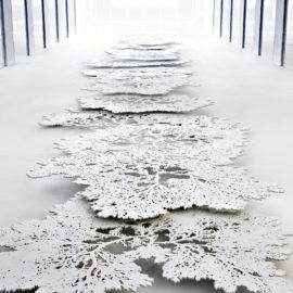 HENDRIX+STUDIO | Corian recortado en forma de algas | 2013