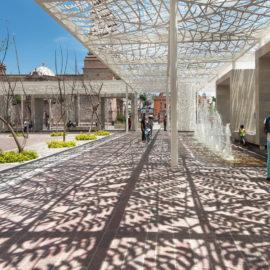 HENDRIX+STUDIO | Patio de las Jacarandas | 2015