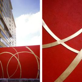 HENDRIX+STUDIO | Mural entrada edificio Atelier | 2004
