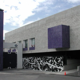 HENDRIX+STUDIO | Mural fachada Laboratorios Liomont | 2004